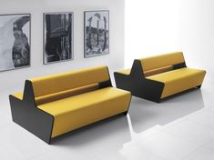 Picture Two Sided Module Sofa Magnitude Office Reality