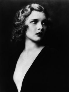 Drucilla Strain, 1929: a stunning black and white portrait by Alfred Cheney Johnston.