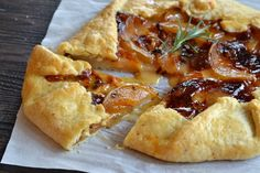 Roasted Pear and Brie Galette
