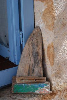Bateau en bois flotté by Hania Destelle