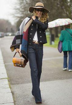 Street Style #Burberry #fashion