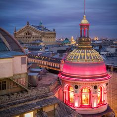 Lighted Dome, Paris, France