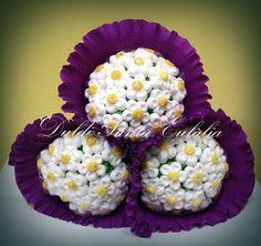 Duldi Santa Eulàlia ha preparado estas dulces Margaritas como detalle para una boda.