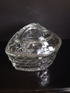 Vintage HOMCO Indiana Glass Whitehall Covered Candy Dish on Etsy, $8.75