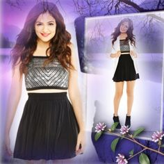 HPBLACK SKATER SKIRTLORIMER Cute and trendy skater skirt with elastic waist and super soft flowy material..HOST PICK1/28/15 By Monica @twinkle1076 Aeropostale Skirts Circle & Skater