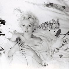 Marilyn Monroe, photographed by Cecil Beaton - one of her favorite photos of herself