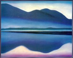 Georgia O'Keeffe. Lake George 1922