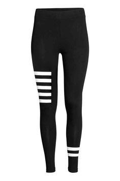 Jersey leggings   H&M