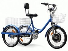 Electricf Three Wheel Adult Trike