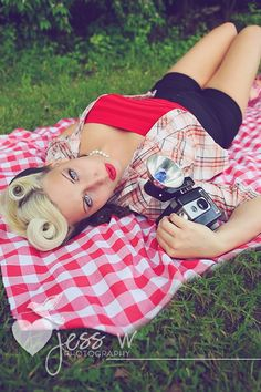 pinup picnic by JessWphotography