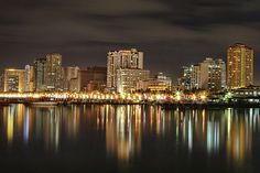 Manila Bay At Night by Igroup - Manila Bay At Night Photograph - Manila Bay At Night Fine Art Prints and Posters for Sale