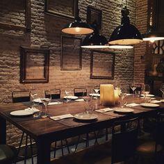Restaurante Llamber, Barcelona (Carrer de la Fusina, 5)