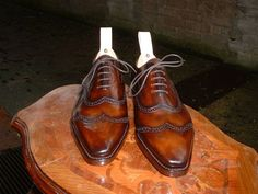 Antonio Meccariello - a new discovery (of mine anyway), and what beautiful shoes.