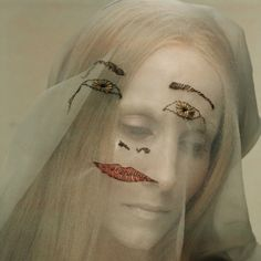 """""""Articles of Faith"""" mask project by Simon Costin and Sharon Dowsett for SHOWstudio. Photography by Nick Knight"""