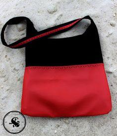Ewig keine Tasche mehr genäht. Wurde also mal wieder Zeit.   Frau hat ja schließlich noch nicht genug :-)   Eine Tasche für jede Gelegenhe...