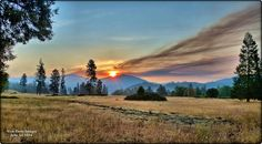 Smoke, fire, and sunrise in Williams, OR  wunderground.com