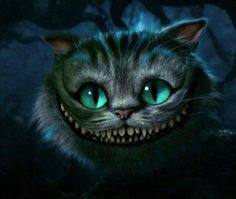 Totally want to draw the Cheshire Cat from Alice in Wonderland.