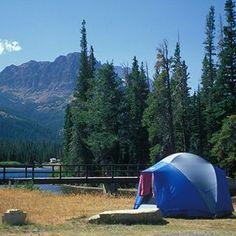Camping at Yellowstone National Park