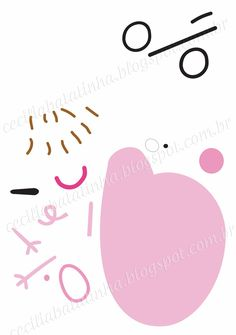 molde+papai+pig+2.jpg (1126×1600)