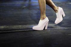 shoes at Alexander Wang Spring 2014