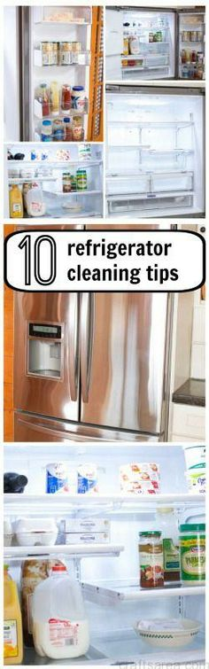 Refrigerator Cleaning Tips, Printable Maintenance Schedule and Chore Chart...