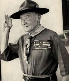 Robert Baden-Powell, founder of the Boy Scouts, died 8 January 1941.