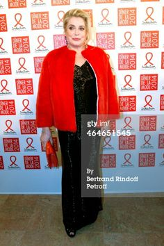 Actress Catherine Deneuve attends the Sidaction Gala Dinner 2014 at Pavillon d'Armenonville on January 23, 2014 in Paris, France (Photo by Bertrand Rindoff Petroff/Getty Images)
