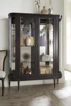 the curio cabinet makes a comeback | glass front cabinets, display