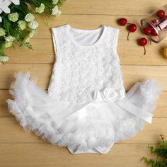 Amazon.com: Masione Baby Girls Lace Rose Party princess Dress dancewear: Clothing