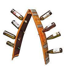 Reclaimed Wine Barrel Riddling Rack