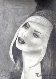 DIBUJOS A LÁPIZ   Lola Kabuki  #love #art #watercolor #paintings #illustration