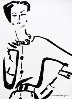 Dagmar Freuchen-Gale, was a fashion illustrator for 'Vogue' and 'Harper's Bazaar' magazines during the and Fashion Prints, Fashion Art, Female Drawing, Fashion Sketches, Fashion Illustrations, Fashion Drawings, Art Students League, Famous Books, Card Patterns
