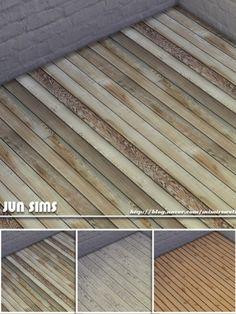 JUN Sims: Floor wood 003 • Sims 4 Downloads [X] Downloaded