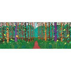 David Hockney Arrival Of Spring Poster
