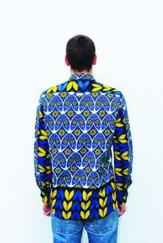 Mens shirt - THE AFRICAN SHIRT COMPANY