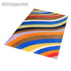 Dirt-Trapper Design Mat - Modern Stripes Pandora - 75 x 100 cm #stripes