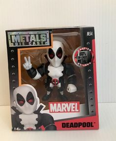 Jada Toys Diecast Action Metals Marvel Classic Figure - Deadpool M54 #JADA