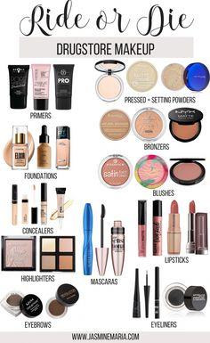 Make Up Kits, Ride Or Die, Skin Makeup, Makeup Brushes, Eyeshadow Makeup, Eyeshadow Palette, Eyeliner, Powder Lipstick, Brow Powder