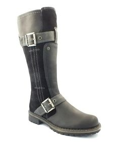 Take a look at this Black Buford Boot by Bos. & Co. on #zulily today! $105 !!