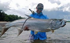 Orlando Orly and a nice tarpon on the fly.