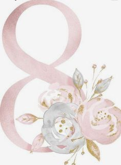 ed7006202 Floral Watercolor, Paper Flowers, 8th Of March, Flower Frame, Baby Art,