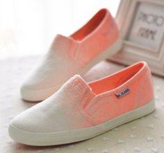 Ombré shoes