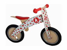 Balance Bike Kiddimoto Kurve Cherry