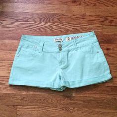 ! Indigo Rein shorts in mint green Indigo Rein shorts in mint green Indigo Rein Shorts