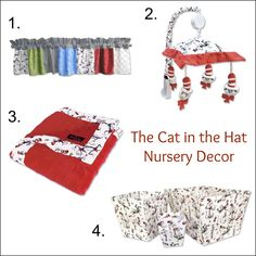 1000 images about dr seuss nursery decor on pinterest for Cat in the hat bedroom ideas
