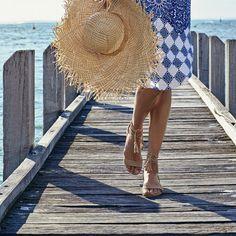 FIDDLE sandal Hobbs Shoes, Buy Shoes Online, Panama Hat, Sandals, Hats, Summer, Fashion, Moda, Hat
