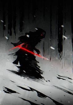 Star Wars: Episode VII - The Force Awakens - Kylo Ren by Bengal *