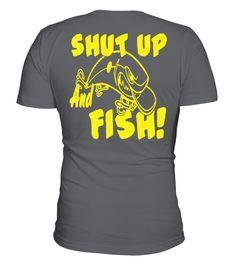 Fishing T-shirt - Fishing Apparel  #gift #idea #shirt #image #funny #fishingshirt #mother #father #lovefishing