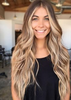 28 Top Blonde Ombre Hair Color Ideas for 2019 - Style My Hairs Brown Ombre Hair, Brown Blonde Hair, Blonde Wig, Ombre Hair Color, Hair Color Balayage, Hair Highlights, Balayage Hairstyle, Grey Hair, Golden Blonde