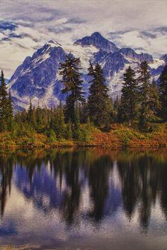 MOUNT SHUSKAN - Mt. Baker Wilderness , Washington